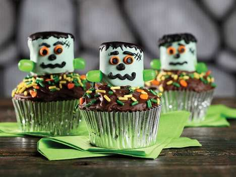 42 Creepy Halloween Cake Recipes - From Vampiric Cake Pops to Spooky Tree Cupcakes
