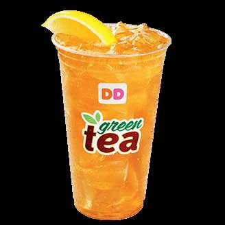 Eco-Friendly Ice Teas - Dunkin' Donuts Iced Green Tea is Rainforest Aliance Certified