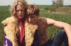 Romantic Wilderness Editorials - Anna Ewers and Tim Schumacher Star in W Magazine's November Issue