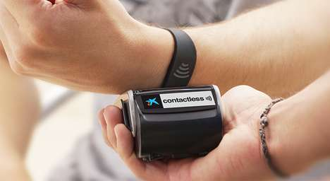 Wearable Banking Wristbands - The CaixaBank Contactless Payment System is a Spanish Alternative
