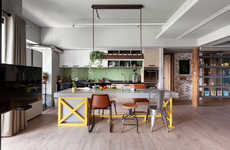 Kitchen-Focused Dwellings - The Family Playground Allows the Kitchen to Take Center Stage