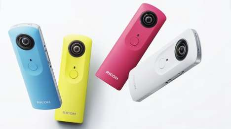 Spherical Pocket Cameras - The Ricoh Theta m15 Has 360-Degree Video-Shooting Capabilities
