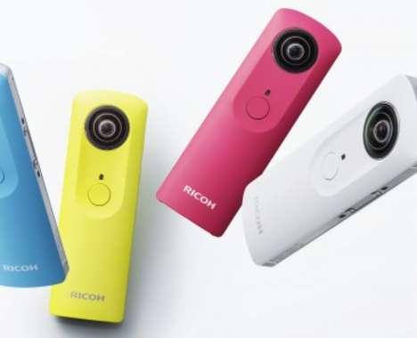 Spherical Pocket Cameras