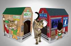 Meowses Provides Fun Alternatives to Boring Cat House Options