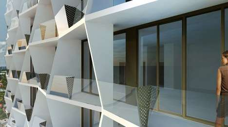 Eco-Friendly Towers - Studio Gang's New Building in Miami Will Seek LEED Gold Certification.