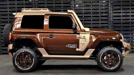 Earthy Off-Road SUVs - The Troller T4 is Targeted Towards the Brazilian Market