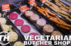 Vegetarian Butcher Shops - YamChops Discusses Creative Vegetarian and Vegan Protein Options