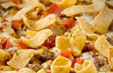 Corn Chip Pizza Toppings - The New Fritos Chili Pizza is Extra Cheesy and Available at Papa John's