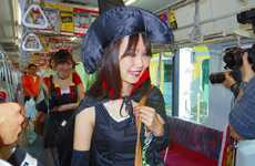 Train Costume Contests - This Adult Halloween Costume Contest in Japan Took Place on a Train
