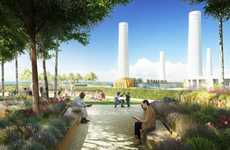 Power Station Roof Gardens - The Battersea Roof Gardens Will Overlook Battersea Power Station