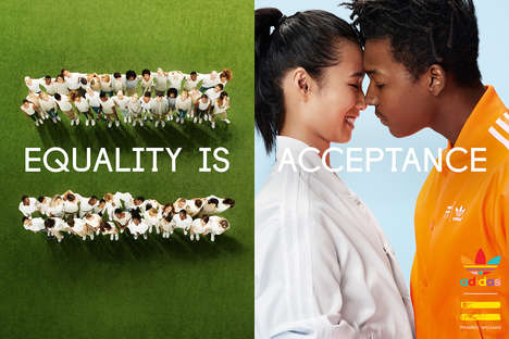 Equality-Touting Campaigns - The Pharrell Williams x adidas Originals Campaign Champions Equality