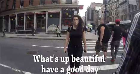 Viral Catcalling PSAs - This Viral Catcalling Video Functions as a Street Harassment PSA