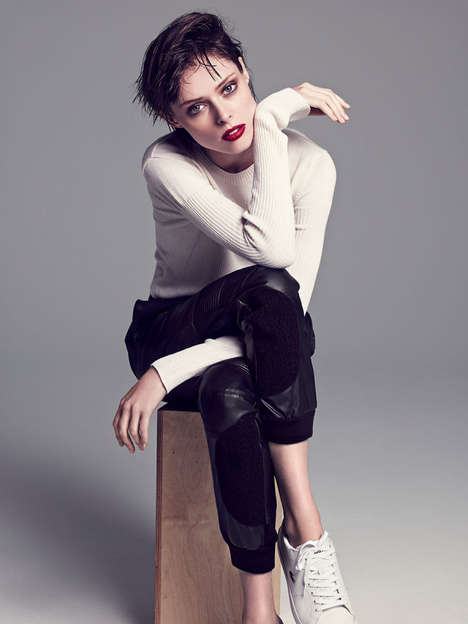 Compelling Autumn Editorials - Coco Rocha Stars in Allure Korea's November Issue