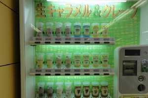This Cool Vending Machine in Japan Dispenses Fresh Crepes