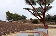 The First Solar eTree is a Offers a Truly Unique and Functional Design
