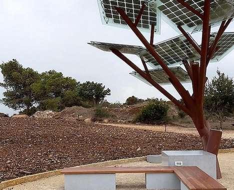 Solar Energy Electric Trees