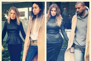 #WWYW Captures the Yeezus Fashion of Kim Kardashian and Kanye West
