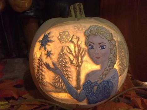 Pop Culture Pumpkin Carvings - These Geeky Pumpkins Make for the Nerdiest Halloween of All Time