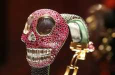 Bone-Chilling Timepieces - The 'Crazy Skull' Watch by de Grisogono Screams Luxury Halloween