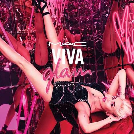 Controversial Pop Star Cosmetics - The Miley Cyrus for MAC Viva Glam Collection is Punchy in Pink