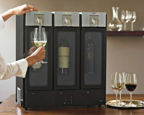Wine Preservation Systems - This System Preserves Wine in the Most Beautiful Way Possible