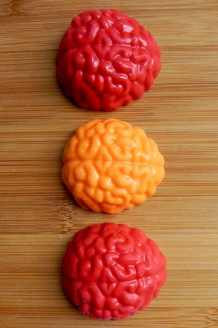 Brain-Covered Biscuits - This Brain Cookie Will Become an Instant Zombie-Favorite