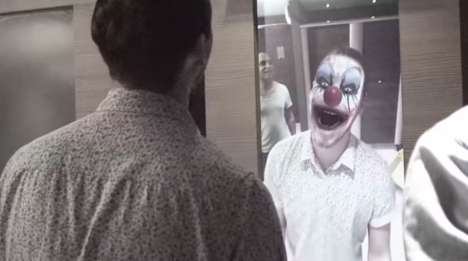 Frightening Mirror Pranks - Pepsi Max's Halloween Scary Prank Tricks People with a Mirror