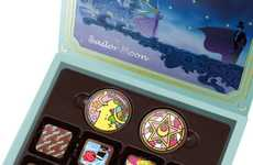 Romantic Anime Confections - These Sailor Moon Chocolates are a Sweet and Indulgent Gift