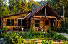 Sportfishing-Specializing Accomodations - This Alaska Lodge is on the Banks of the Kenai River
