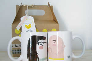These Couples Coffee Cups Show Off the Face of You and Your Love
