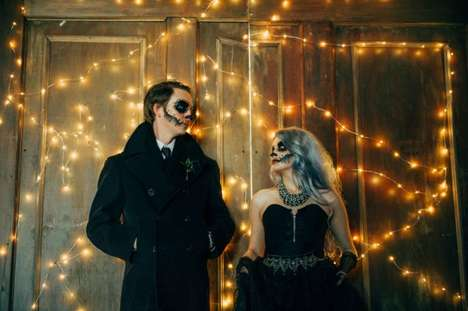 Undead Wedding Photos - These Dark Wedding Photos Were Shot at an Abandoned Warehouse