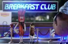 Personified Breakfast Cartoons - Denny's Promotes Its Breakfast Menu by Animating 'The Grand Slams'