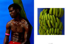 Candid Tropicana Editorials - The Ones 2 Watch Banana Boy Fashion Story Boasts Sporty Menswear