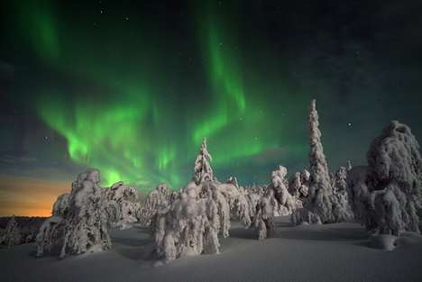 Simulated Northern Light Shows - This Virtual Reality Light Show Replicates the Aurora Borealis