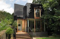 Tree House Abodes - This London House Blends Into Its Environment