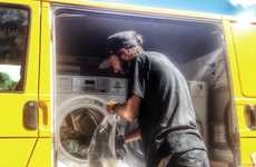 A portable laundry service for the homeless...