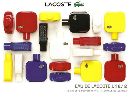 Chromatic Fragrance Branding - Lacoste's Eau de Lacoste L.12.12 Boasts Brightly Colored Packaging