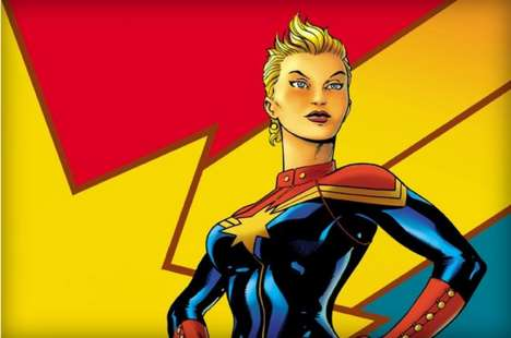 Female Superhero Films - Captain Marvel is the First Female Marvel Character to Get Her Own Movie