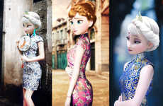 Cultural Disney Princess Makeovers