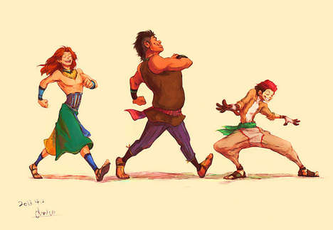 Reimagined Cartoon Characters - Deviantart User Chaico Imagines Disney Animals as Humans