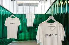 Beer-Branded Fashion Shops - Heineken's Fashion Pop-Up Shop Celebrates Underground Talent
