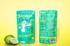 Bagged Brazilian Cocktails - This Ready to Drink Cocktail is Made with Natural Ingredients
