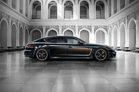Luxury Executive Cars - The Porsche Panamera Exclusive Series is Made for Successful Business People