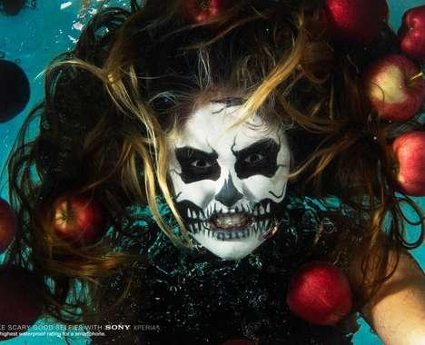 Terrifying Underwater Selfies