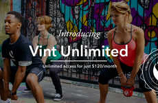 Unlimited Personal Training - Vint Unlimited Includes Diverse Workout Sessions for a Flat Fee