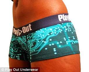 Graphic Unisex Undies - The Play Out Line of Gender-Neutral Underwear is Designed to Fit Both Sexes