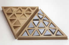 Concrete Prism Puzzles - LOGIFACES is a Stylish Analogue Mind Game for the Digitally Inclined