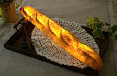 Realistic Bread Lighting - Pampshade' Food Lamps are Designed to Resemble Carb-Filled Treats