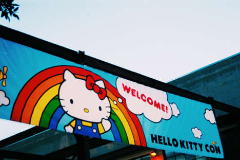 Famous Feline Conventions - The First Hello Kitty Convention Celebrates the Character's 40th Year