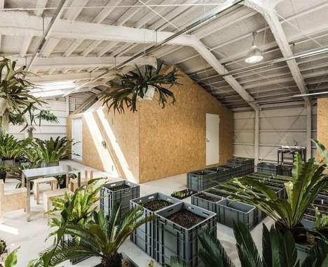 Industrial Indoor Gardens